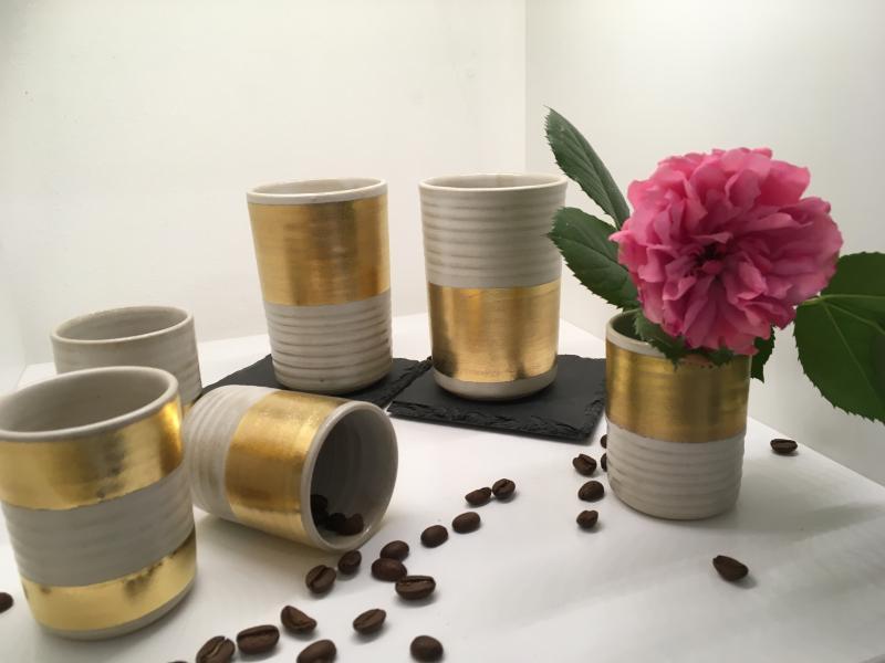 Kaffeebecher ohne Henkel